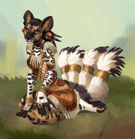 african wild kitsune — Weasyl