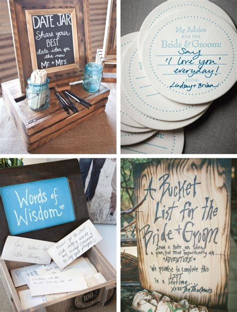 12 ways make your wedding interactive linentablecloth