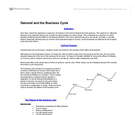 Business Cycle Essay by Business Cycle Essay Essay Business Cycle Macroeconomics The Business Cycle Business Cycle