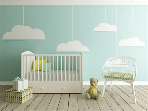 Baby Room Wall - creative ideas for your nursery accent wall
