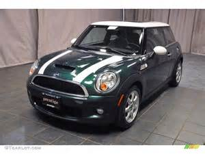 Green Mini Cooper 2007 Racing Green Metallic Mini Cooper S Hardtop