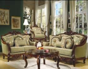Traditional Living Room Chairs Antique Sofa Set Sofa Set