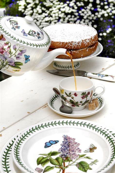 Portmeirion Botanic Garden Tea Set Portmeirion Botanic Garden Tea Cup And Saucer Set Of 6 Portmeirion Uk