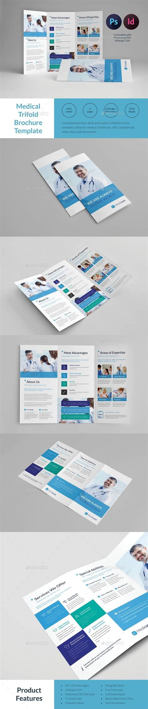 informational brochure template trifold brochure template by tontuz graphicriver