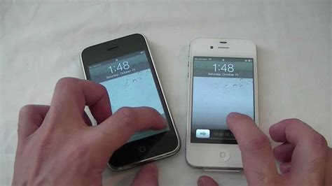 iphone 4s vs iphone 3g comparison 1080p hd