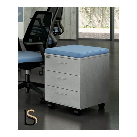 caisson mobile 3 tiroirs caisson mobile 3 tiroirs avec coussin officity caissons