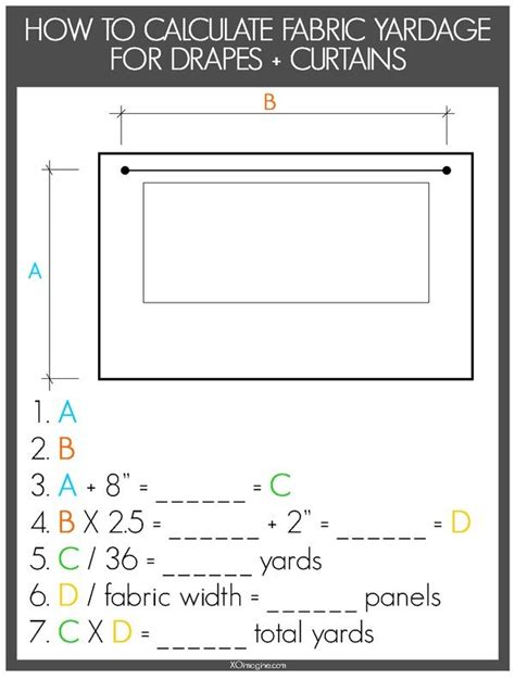 curtain size calculator 25 best ideas about diy curtains on pinterest sewing