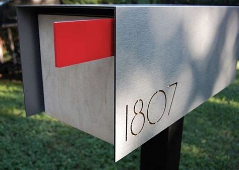 post box design for house 1000 ideas about contemporary mailboxes on pinterest