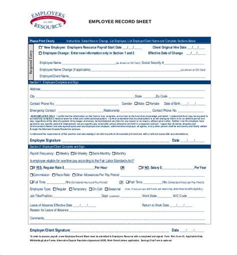 employees information sheet expin franklinfire co