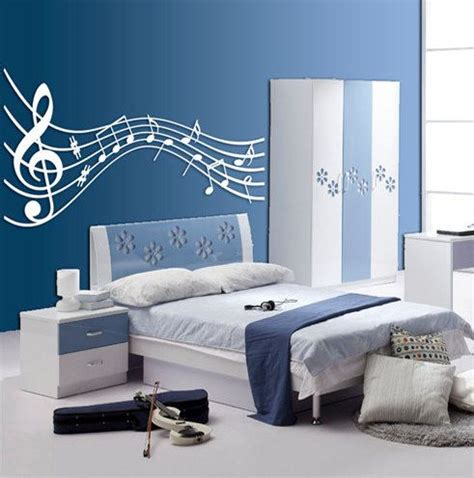 Music Themed Bedroom » Home Design 2017