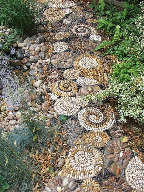 15 Magical Pebble Paths That Flow Like Rivers Pebbles And Rocks Garden