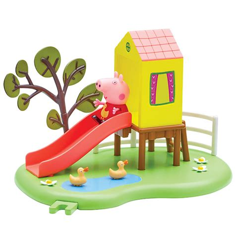 peppa pig swings peppa pig outdoor fun swing and slide playset peppa pig