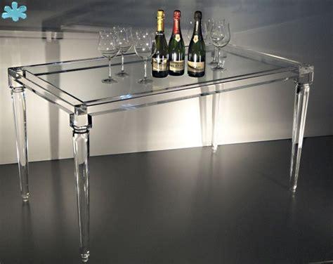lucite esszimmertisch 47 besten acrylic dining tables tavoli da pranzo