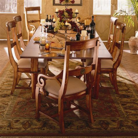 kincaid tuscano dining room set kincaid furniture tuscano tuscano arm chair pedigo