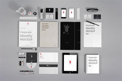 corporate identity mockup   prodessin graphicriver