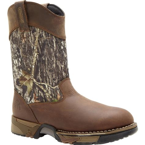 pull on boots rocky aztec camo pull on boots