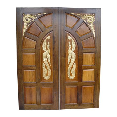 Front Door Designs In Wood Keralahousedesigner Front Door Design