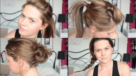 quick and easy hairstyles for pe hairstyles for p e