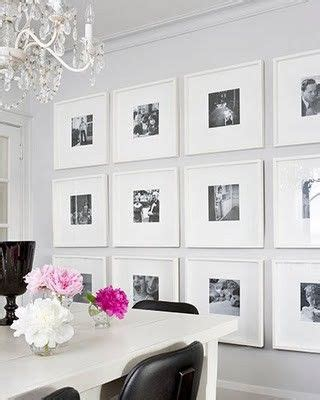 Family Square Photo Frame White Home Decoration Pigura Foto Tumpuk square frames in a gallery wall white black and pink dining room for the home