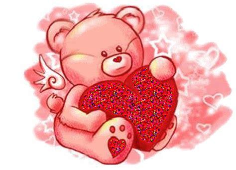 imagenes de amor con ositos animados imagen de amor de un osito latiendo el coraz 243 n