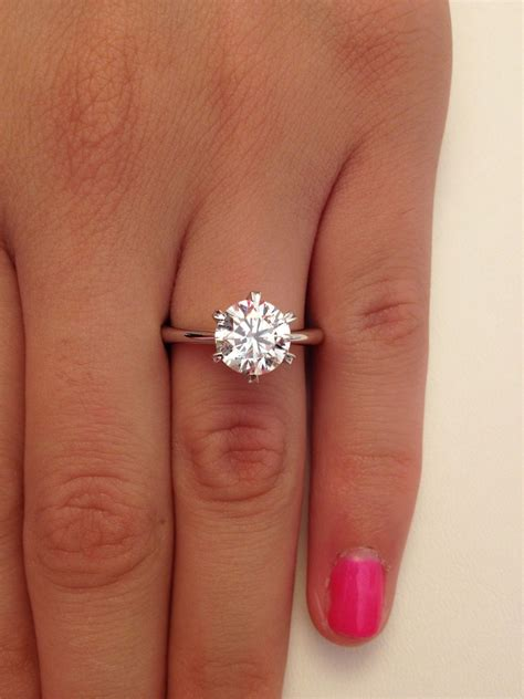 One Engagement Ring by How Much Is A One Carat Engagement Ring