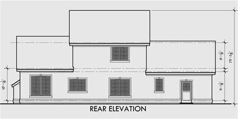 house designs with master bedroom at rear two story house plans 3 bedroom house plans master on