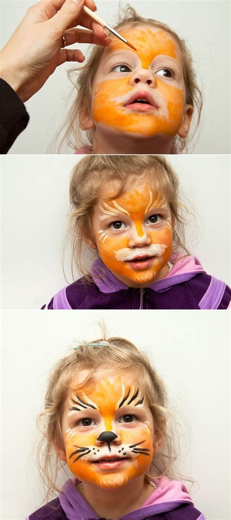 cute  easy halloween face makeup ideas  kids
