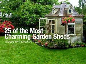 Tiny House For Backyard 25 of the most charming garden sheds