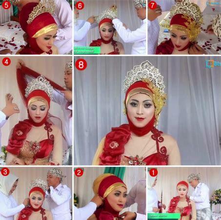tutorial hijab pengantin terbaru 2016 tutorial hijab pengantin muslimah modern terbaru 2016