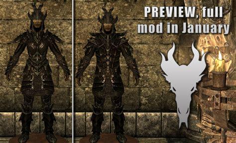 skyrim dragon armor retexture colored dragon armor retexture at skyrim nexus mods and