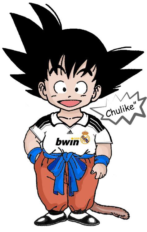 imagenes de goku jugando futbol goku likes soccer d by chulike on deviantart