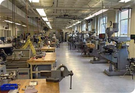 Modern Open Floor Plans machine shop laboratory for manufacturing and productivity
