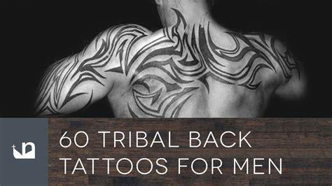 tribal back tattoos for men 60 tribal back tattoos for