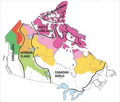 Where Is The Interior Plains Located In Canada by Location Of Interior Plains In Canada Interior Plains