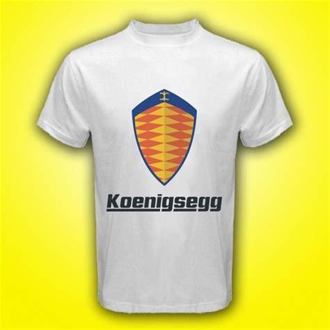 koenigsegg logo black and white koenigsegg car logo ccx ccxr agera r white t shirt size s