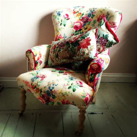 Fabric Armchairs Uk by Vintage Fabric Armchair Home