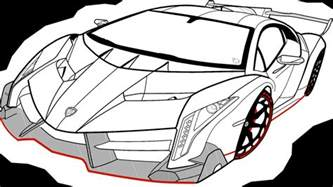How To Draw Lamborghini Veneno Lamborghini Veneno By Ausoft On Deviantart