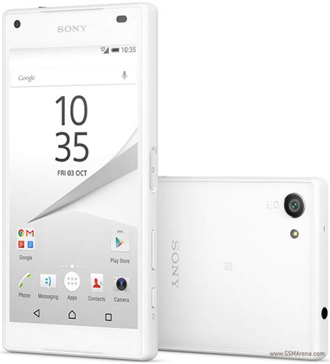 Hp Sony Z5 Compact sony xperia z5 compact pictures official photos