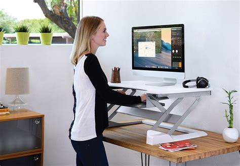 How To Raise A Desk by Cheaper Alternatives To Expensive Standing Desks Tidbits