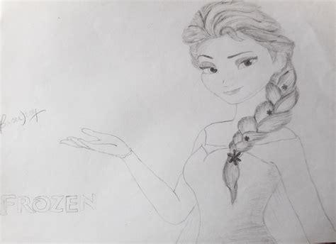 Disney Princess Elsa Drawing Princess Elsa Drawing