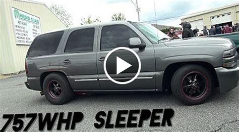 Suv Sleeper by Budget Built Sleeper Turbo Tahoe With 700hp Will