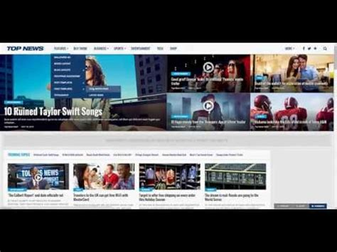 newspaper theme youtube top news wordpress theme preview dasnic youtube