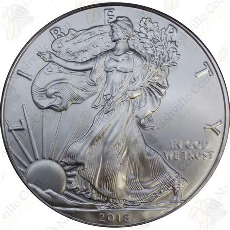 1 Oz Silver Eagle 2018 - 2018 1 oz american silver eagle brilliant uncirculated