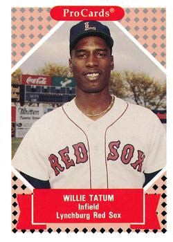lynchburg red sox gallery 1991 92   the trading card