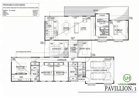 House Designs Pavillion Urban Homes Tasmania House Pavillion House Plans