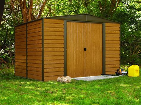 Outdoor Shed Kits Arrow Sheds Prefab Garden 6x5 Small Diy Outdoor Steel Tool