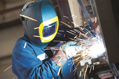 safety helmets aid welder comfort and productivity