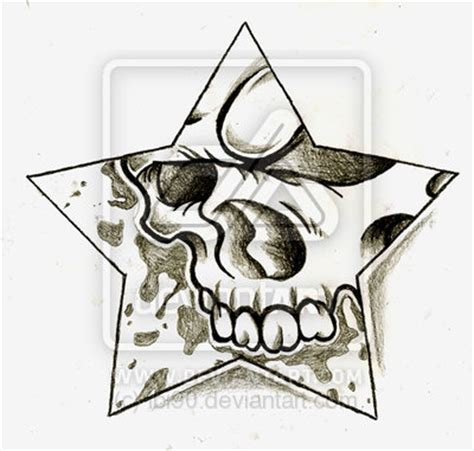 skull and star tattoo designs 1000 images about skulls n on metal