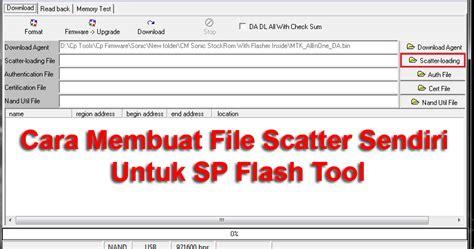 membuat html file tutorial mudah membuat sendiri file scatter untuk sp flash