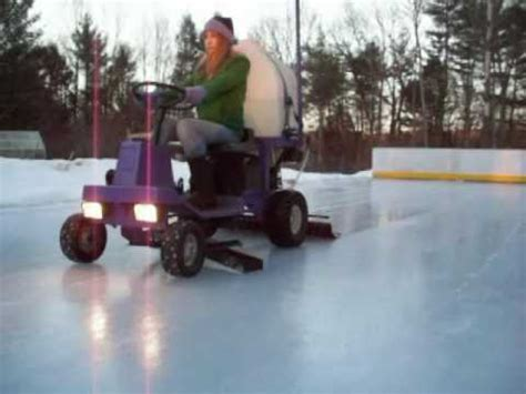 backyard ice rink zamboni backyard zamboni keeps the best diy ice rink in town hackaday